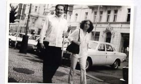 Carlos the Jackal with his German girlfriend Magdalena Kopp in Prague, photo: Czech Security Services Archive / Archival collections of SNB - files (SL), arch. no. SL-454 MV