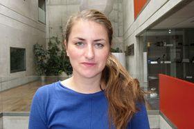 Kateřina Šedá, photo: Elena Horálková, ČRo