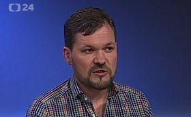 Martin Balcar (Foto: ČT24)