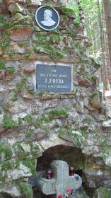 Le mémorial de Jakub Jan Ryba sur le lieu de sa mort, photo: Miloš Turek