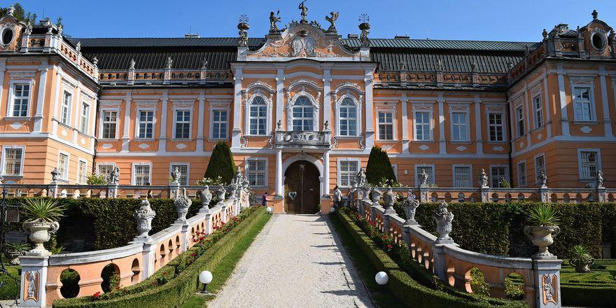 Schloss Nové Hrady (Foto: Ondřej Tomšů)