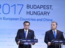 Chinese Prime Minister Li Keqiang, Hungarian Prime Minister Viktor Orban, photo: CTK