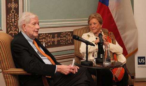 William Luers, photo: archive of US Embassy in Prague