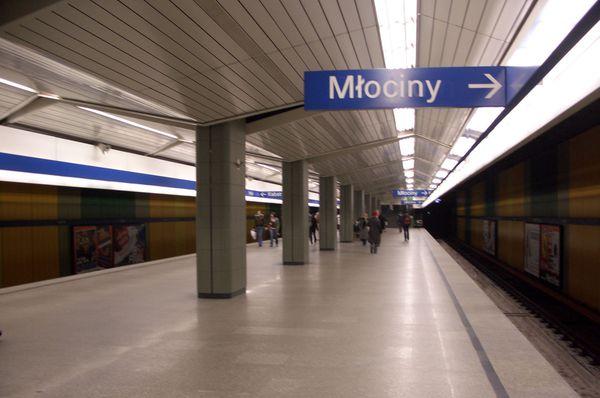 Warschauer Metro (Foto: Adamon, CC BY-SA 3.0)