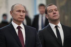Wladimir Putin und Dimitri Medwedew (Foto: ČTK)