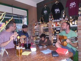 Rumbalgia - Domingo, Xavi, David y Albert, foto: Ana Briceño
