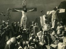 Passionspiele in Hořice 1923 (Foto: Antonín Chalupa)
