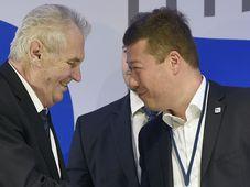 Miloš Zeman et Tomio Okamura, photo: ČTK