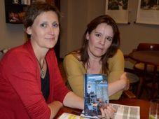 Lenka Horňáková Civade et Anne Delaflotte Mehdevi, photo: Anna Pecková, Informace z Brna