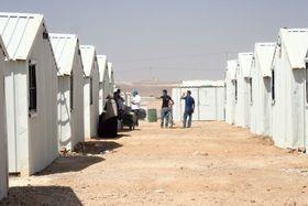 Uprchlický tábor Azrak vJordánsku, foto: Štěpán Macháček