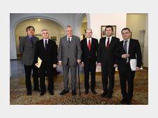 Les représentants de l'Etat se sont rencontrés pour coordonner leurs positions relatives à la politique étrangère, photo: ČTK
