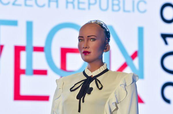 Le robot Sophia, photo: ČTK