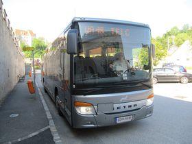 Bus verbindet Telč mit dem niederösterreichischen Raabs (Foto: Archiv Jikord)