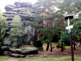Pfadfinderfelsen (Foto: Markéta Kachlíková)