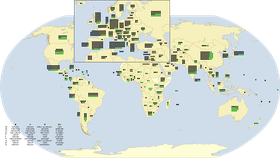 UNESCO-Welterbestätten (Quelle: NordNordWest, CC BY-SA 3.0 DE)