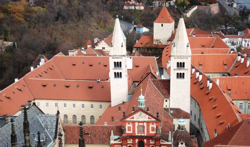 Monastery of St George at Prague Castle, photo: Rémi Diligent, Public Domain
