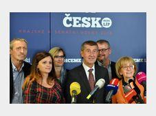 El claro ganador de las elecciones regionales de la RCh, el movimiento ANO, foto: ČTK