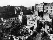 L'assainissement de l'ancien ghetto juif