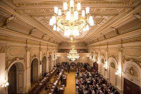 Abgeordnetenhaus (Foto: Filip Jandourek, Archiv des Tschechischen Rundfunks)