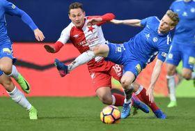 El Slavia de Praga no aprovechó su presión y las numerosas oportunidades de marcar en Liberec, foto: ČTK