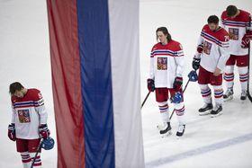 Čeští hokejisté prohráli ve čtvrtfinále mistrovství světa vPaříži sRuskem 0:3, foto: ČTK
