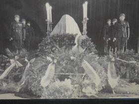 El funeral de T.G.Masaryk, foto: Anton Kajmakov