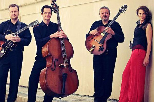 Фото: David Tesař, Petra Ernyei Quartet