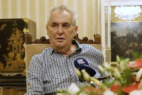 Miloš Zeman (Foto: Khalil Baalbaki, Archiv des Tschechischen Rundfunks)