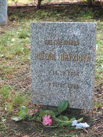 Kindergrab auf dem Friedhof im Stadtteil Ďáblice (Foto: Archiv von Matěj Černý)