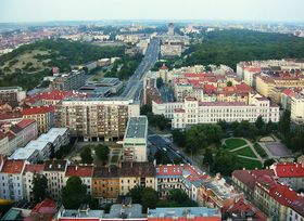 Prague - Žižkov, photo: Wikimedia Commons, Public Domain