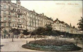 Парадная часть района Вршовице, 1915 г., Фото: Открытый источник
