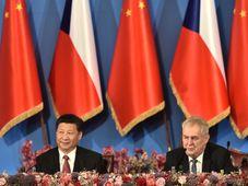 Xi Jinping, Miloš Zeman, photo: CTK