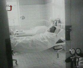 Ян Палах в больнице, Фото: ЧТ