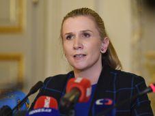 Kateřina Valachová, foto: ČTK