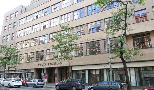 Czech Radio's main headquarters in Vinohradská street in the centre of Prague, photo: Lenka Žižková