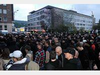Les néo-nazis à Ústí nad Labem, photo: CTK