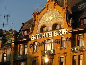 Hotel Europa am Wenzelsplatz (Foto: Kristýna Maková, Archiv des Tschechischen Rundfunks - Radio Prag)