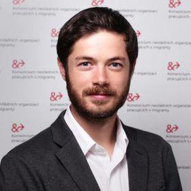 Tomáš Jungwirth, foto: archivo del proyecto Bienvenidos Refugiados