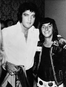 Tony Prince meets Elvis (1972), photo: archive of Tony Prince