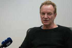Sting, foto: Vojtěch Koval, ČRo