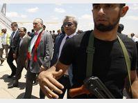 Karel Schwarzenberg en Libye, photo: CTK