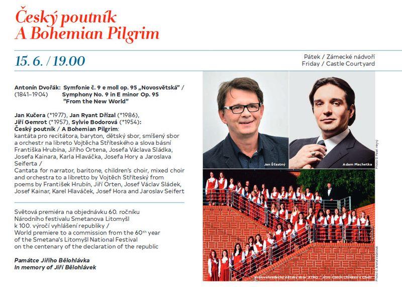 """""""Der tschechische Pilger"""" (Foto: Programm des Musikfestivals Smetanas Litomyšl)"""