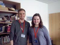David Groher und Clara Winkler (Foto: Markéta Kachlíková)