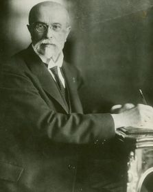 Tomáš Garrigue Masaryk, photo: New York Public Library Archives