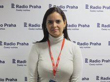 Tamara Sujú, foto: Archivo de Radio Praga