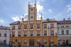 Rathaus in Mšeno (Foto: Oskera Miroslav, CC BY-SA 3.0)