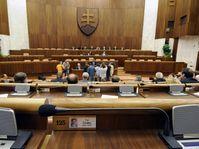 Le parlement slovaque, photo: CTK