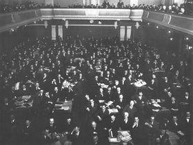 Sozialdemokraten-Kongress 1928 (Foto: Archiv der Seliger-Gemeinde)