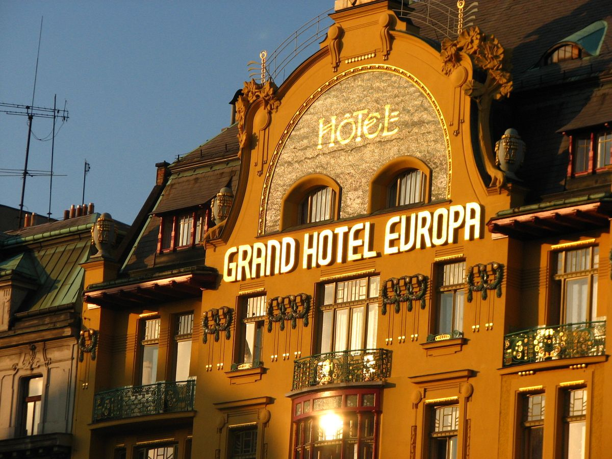 Radio prague w hotels to make prague debut with art for W hotel prague