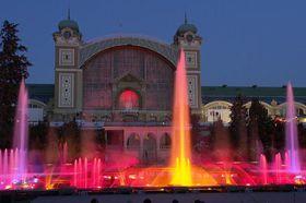 Танцующий фонтан им. Кржижика, фото: City of Prague
